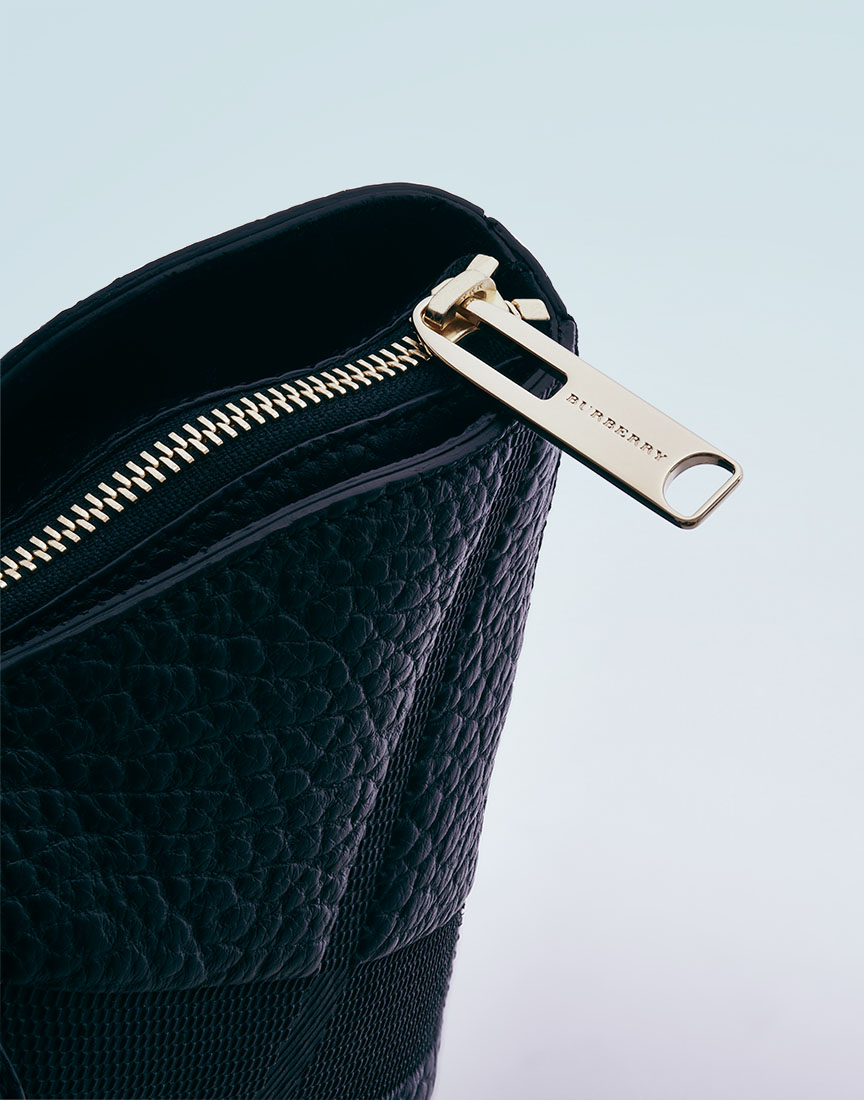 Burberry Purse on Neutral Background by Ted Cavanaugh